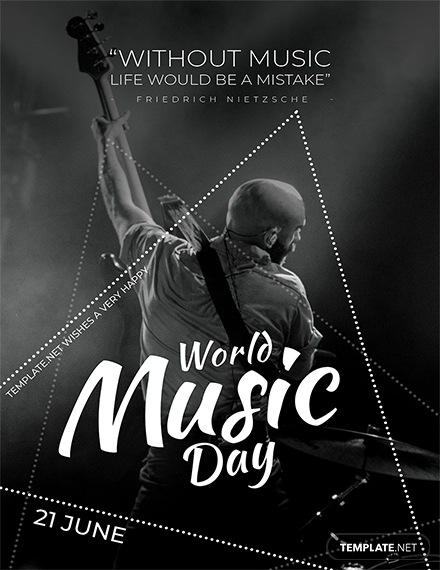 world music day greeting