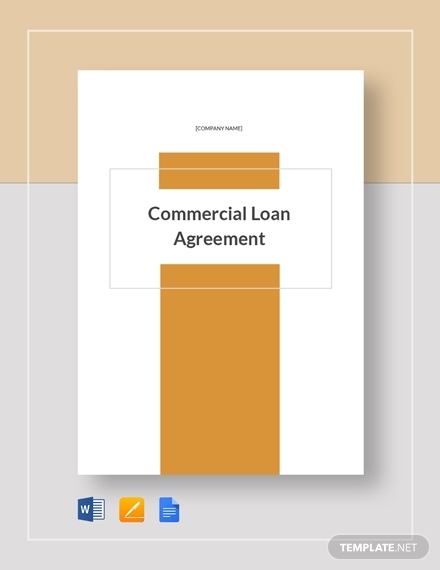 commercial loan agreement1