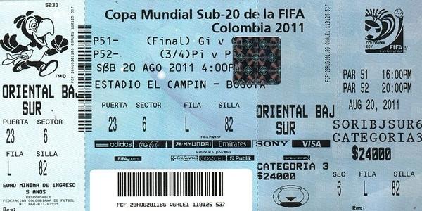fifa ticket