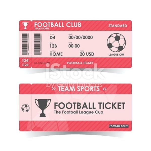 football cup ticket