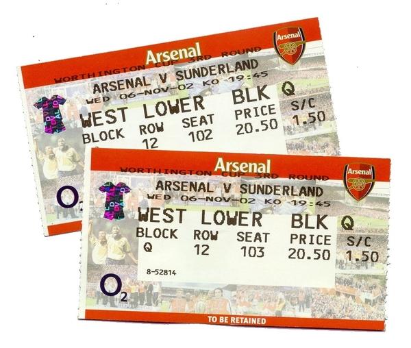 soccer football ticket