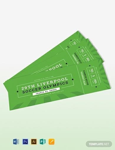 soccer ticket invitation1
