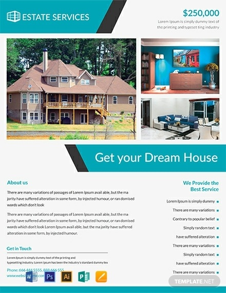 15 Best For Sale By Owner Real Estate Flyer Examples