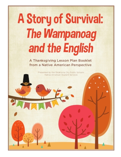 a thanksgiving lesson plan booklet