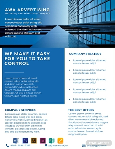 advertising company datasheet