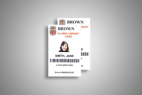 alumni borrowing card