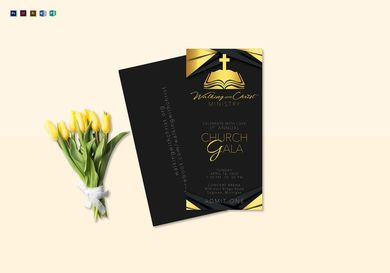 annual church gala ticket
