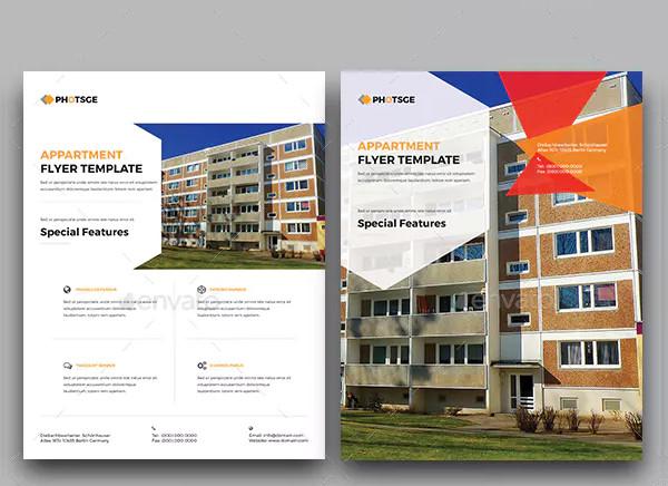 apartment rental real estate flyer1