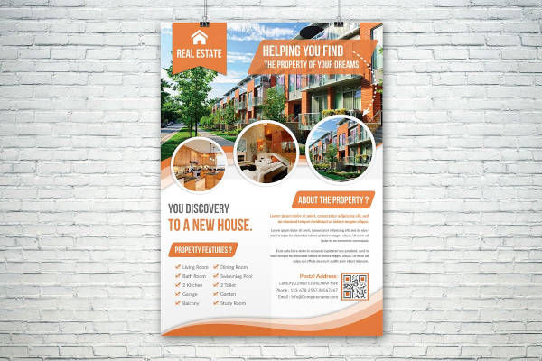attractive real estate flyer1