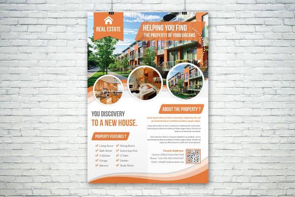 attractive real estate flyer1