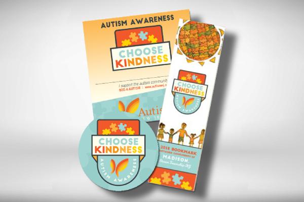 autism awareness bookmark