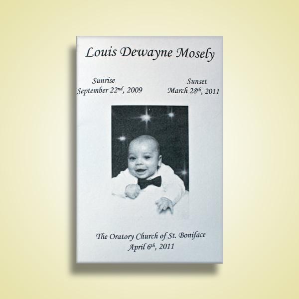 baby funeral program1
