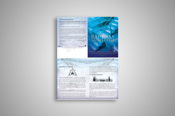 baptism and discipleship brochure