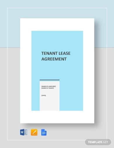 basic tenant lease agreement