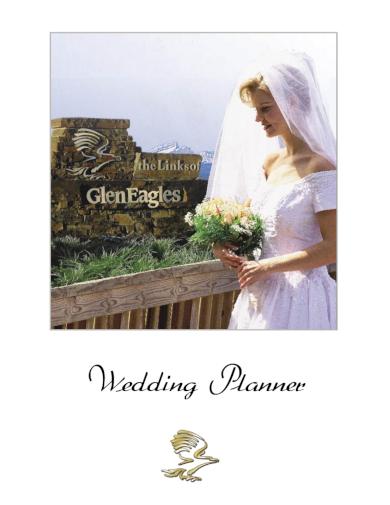 basic wedding planner