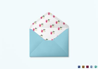 beach wedding envelope