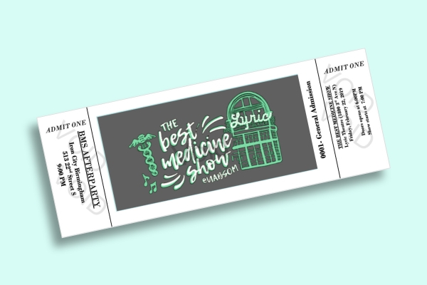 best medicine show general admission ticket