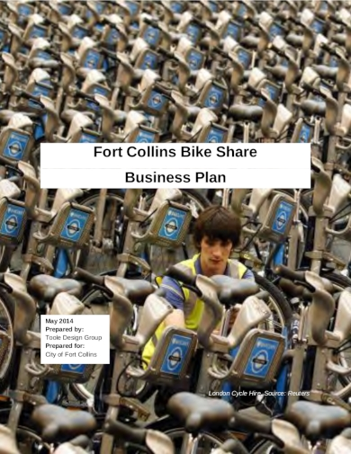 bike rental business plan