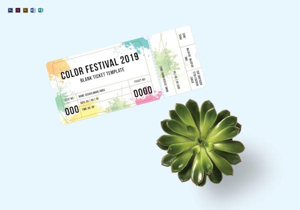 blank festival ticket 1