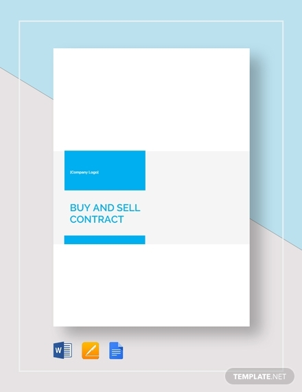 buying and selling real estate contract template