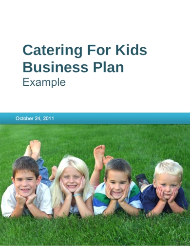 catering for kids business plan