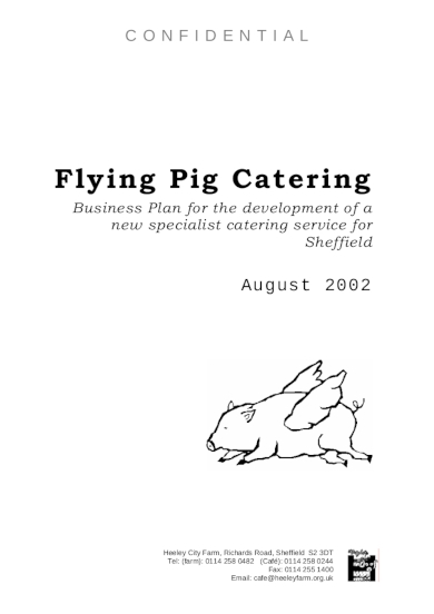 catering service business plan