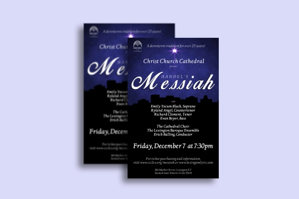 christmas musical concert ticket