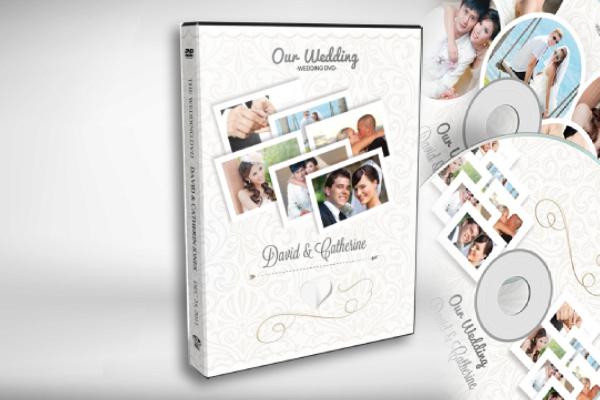 classy wedding dvd cover