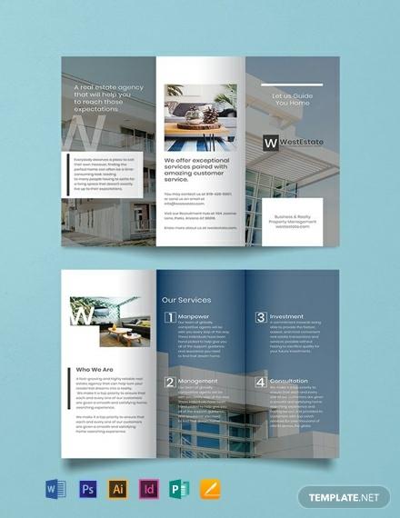 commercial real estate marketing brochure