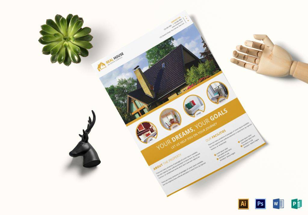commercial real estate marketing flyer template 1024x717