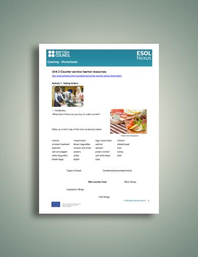 comprehensive catering worksheet