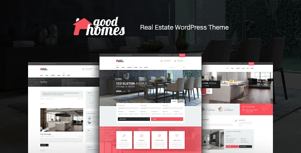 contemporary property management wordpress template