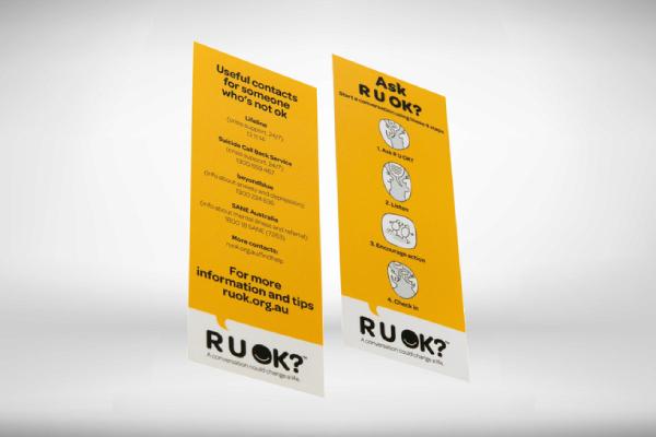 conversation 4 step bookmark