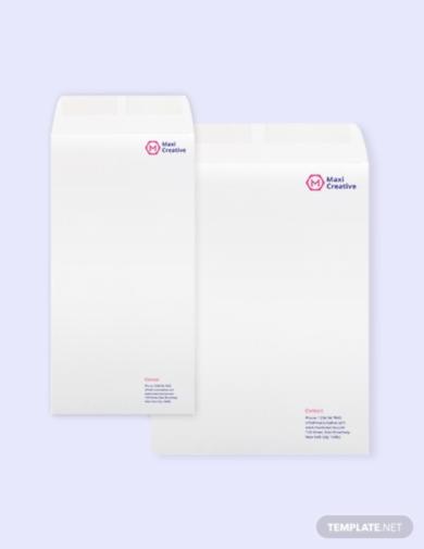 creative agency envelope