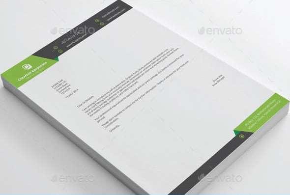 creative corporate real estate letterhead