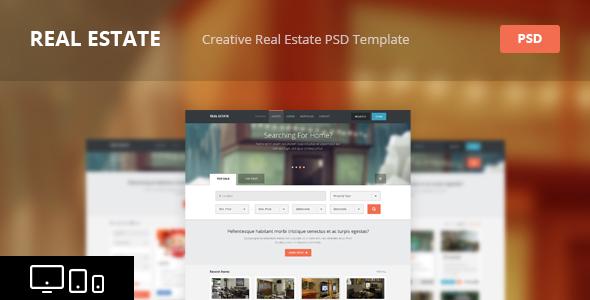 creative realtor website template1