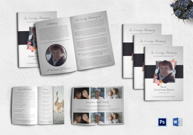 customizable funeral booklet1