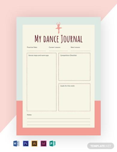 dance journal1