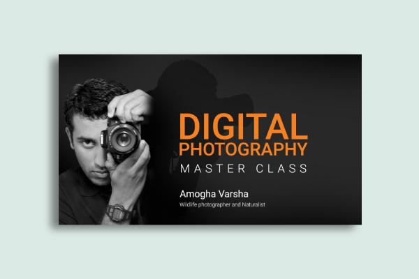 digital photography class banner