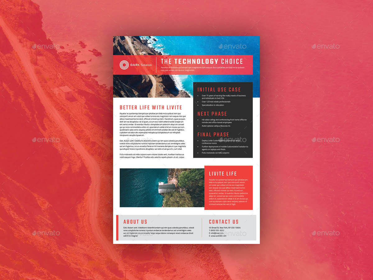 editable real estate case study template