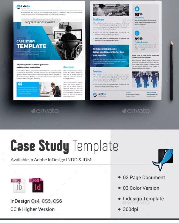 elegant real estate case study template
