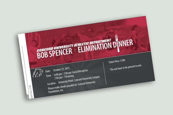 elimination dinner ticket