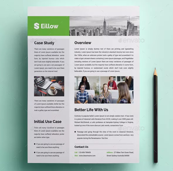 elite real estate case study template
