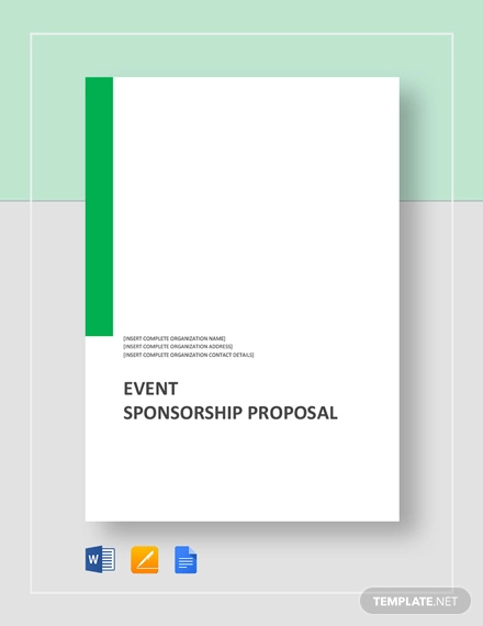 36+ Event Proposal Examples - PDF, DOC, PSD | Examples