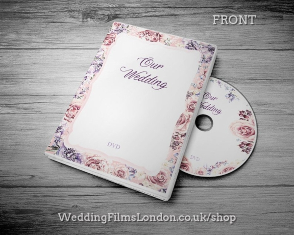 floral wedding dvd cover