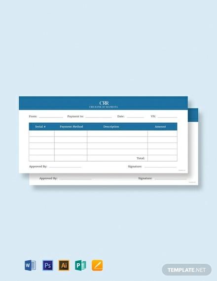 free labour payment voucher template