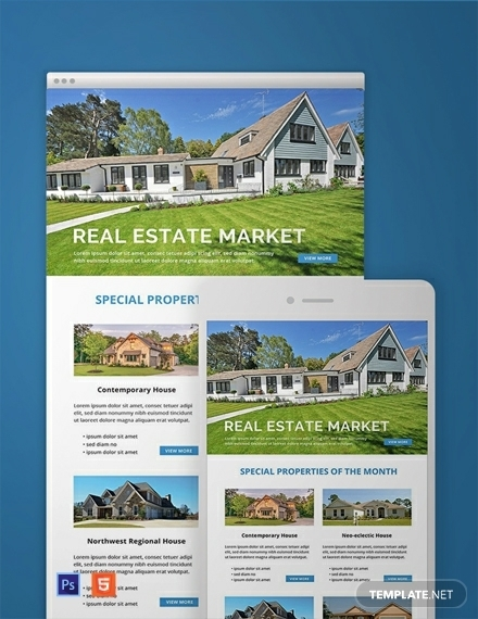 free monthly real estate marketing newsletter