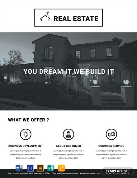 free printable real estate farming flyer template