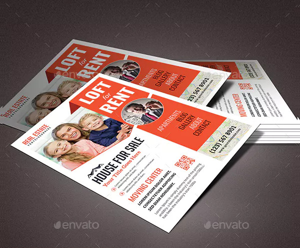 free real estate rental flyer template
