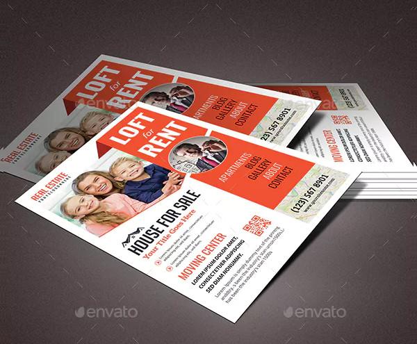 free real estate rental flyer template